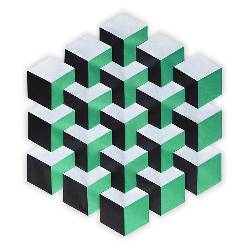 Cube Illusion Tessellation